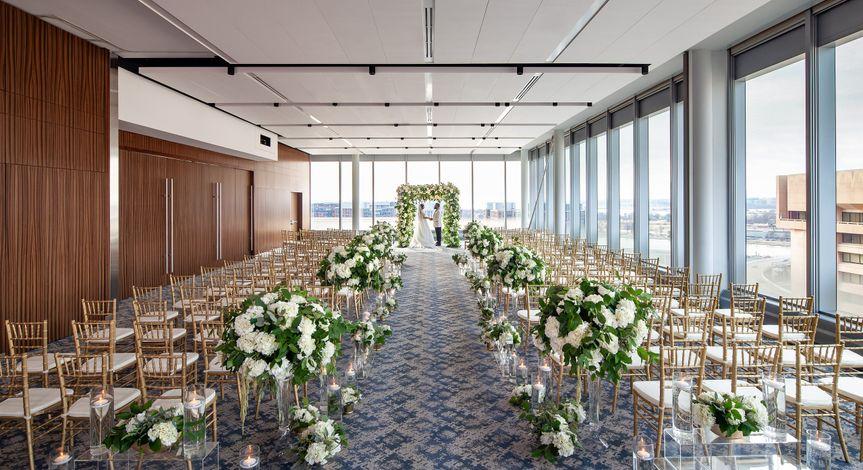 Wedding at Spy Museum
