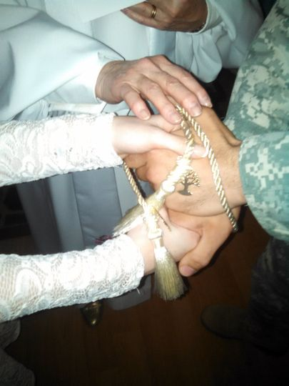 Handfasting is an ancient celebration to symbolize the entwining of two lives and their commitment...