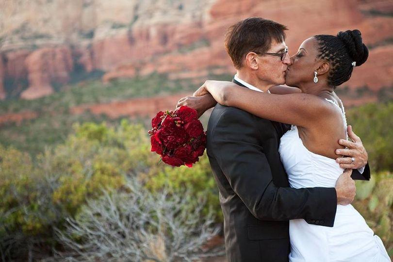 sedona bride phot