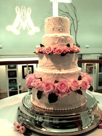 Can you imagine a better place to show off a beautiful cake, which is a work of art on its own, than...