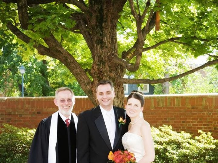 Tmx 1417619194058 Carina  Richie  1 10.07.2007 Raleigh, NC wedding officiant