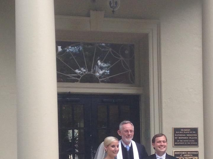Tmx 1422061231663 Megan  Alex 1 06.21.2014 Raleigh, NC wedding officiant