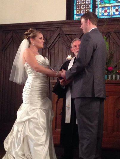 Tmx 1422061689076 Kayla  Mike 08.09.2014 Raleigh, NC wedding officiant