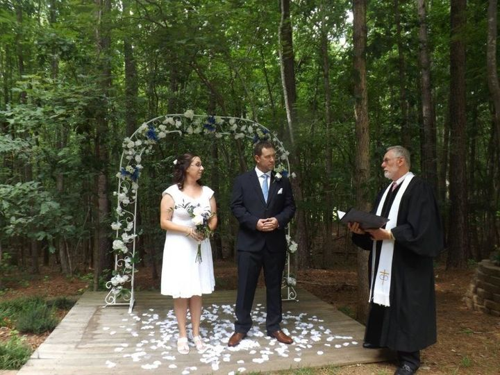 Tmx 1516036777 C3be9df81b8785c9 1516036771 Ca9efbce2fd63208 1516036760199 41 Suzanne Holt And  Raleigh, NC wedding officiant