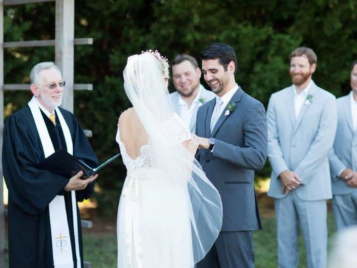 Tmx 1516036782 59b7b0b939e7faea 1516036778 5d023bc7787cd2c1 1516036760241 62 Carey Moore And R Raleigh, NC wedding officiant