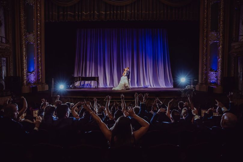 altoona pa wedding photographer mishler theater 046 ceremony on stage 51 765467 1569347884