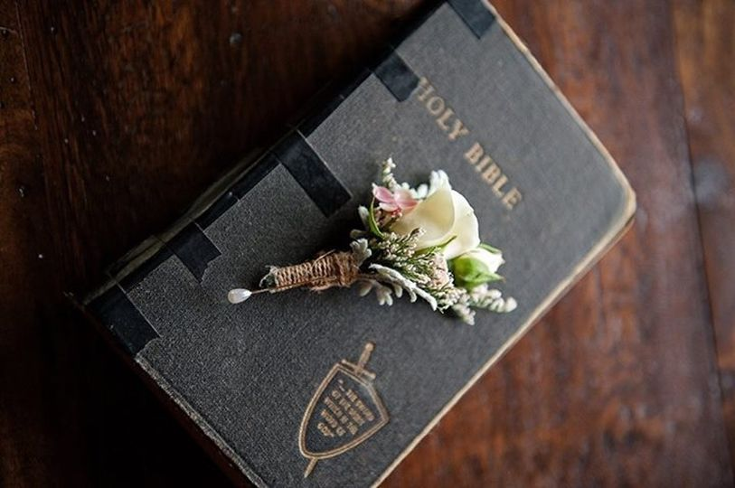 Family Bible for weddings