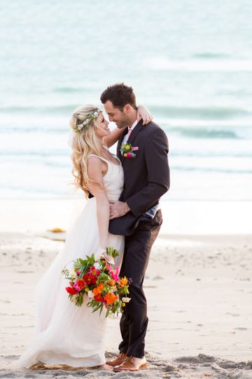 San Diego Beach Wedding by Goss & Hermeyer Photography