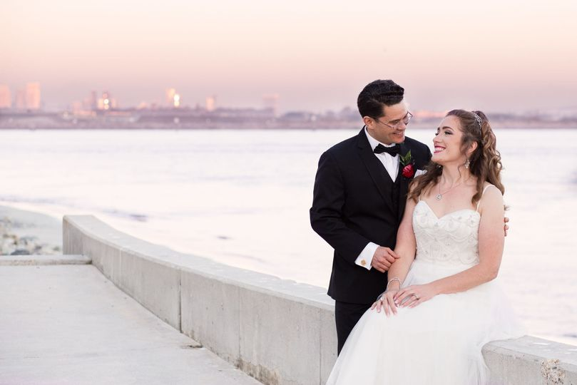 San Diego Bay Wedding by Goss & Hermeyer Photography