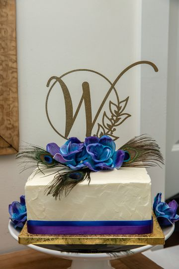 Ward Wedding cake
