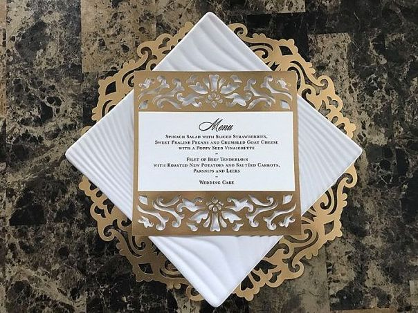 Tmx Gold Charger And Menu 51 377467 158923825482241 Boston wedding invitation