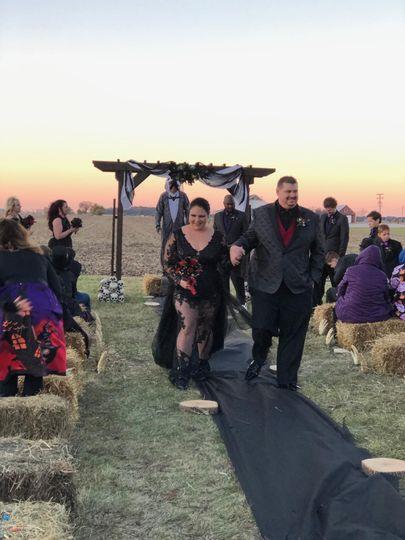 Bride and Groom Halloween
