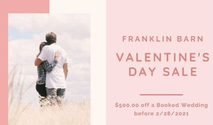 Franklin Barn-Weddings and Events 1