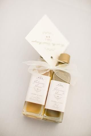 elegant pairing with place card