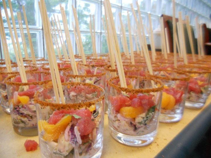 Tmx 1388701254211 Seaffood Cevich Summerville wedding catering