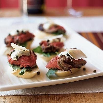 Tmx 1453492138885 Beef Tenderloin With Mustard Horseradish Summerville wedding catering