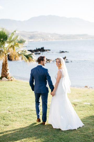 Private beach wedding Crete
