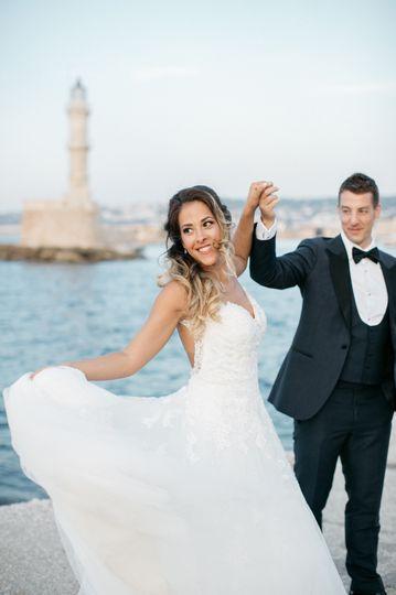 Wedding shoot in Chania Crete