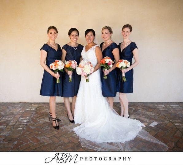 zaldanabride bridesmaids