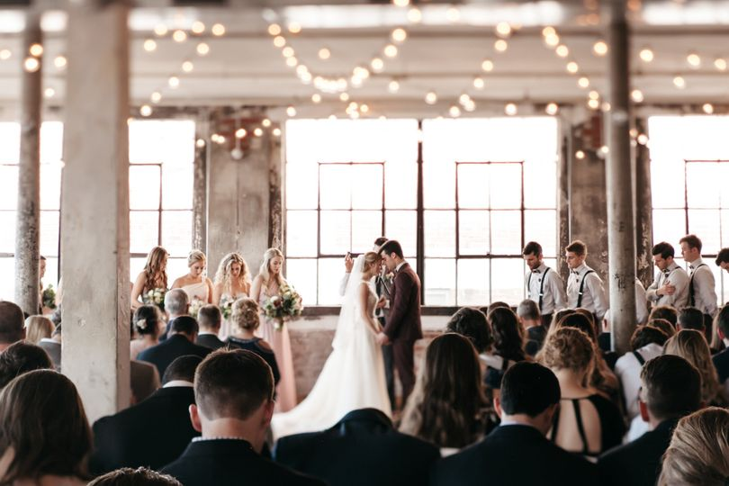 An intimate ceremony (Owl and Anchor Studios)
