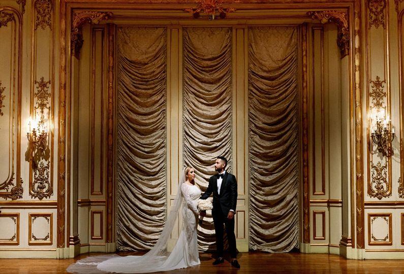 Wedding at Ringling Museum