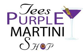 Tees Purple Martini Shop