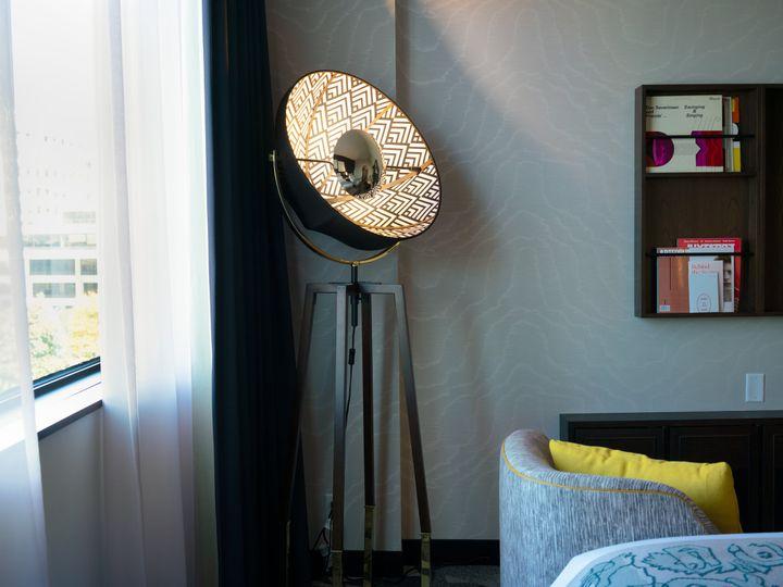Tmx Saint Kate Model Room Bedroom15 51 434567 Milwaukee, WI wedding venue