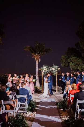 Bali Hai Wedding Ceremony