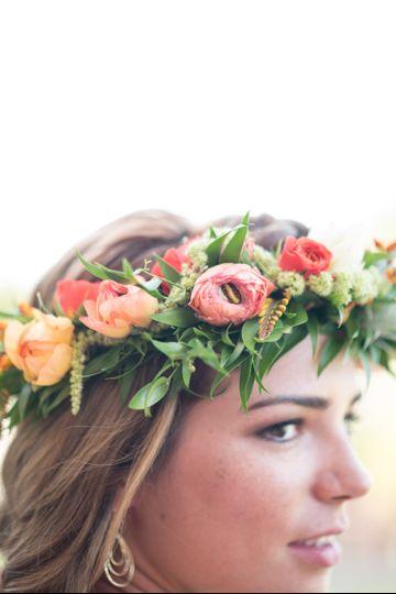 Summer flower crown