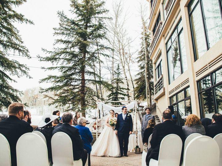 Tmx Alpine Springs Deck Ceremony March 2018 Krista Miller Photography 51 665567 157807032158497 Snowmass Village, CO wedding venue