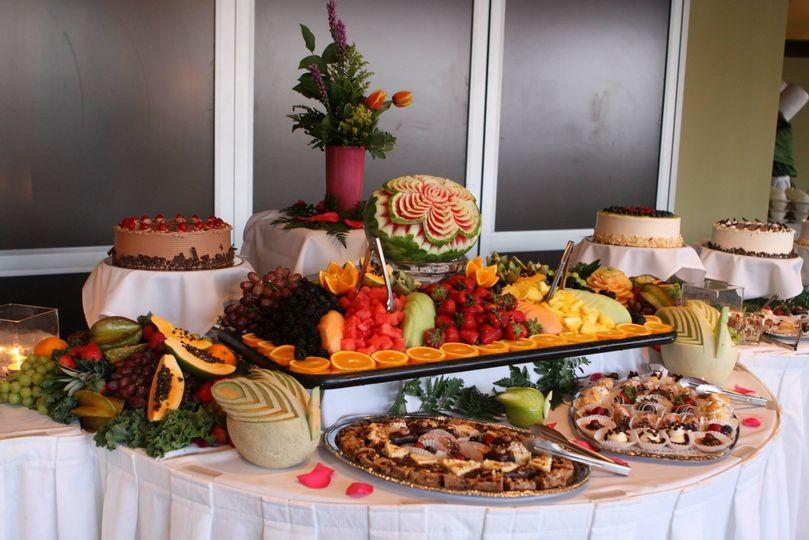 Fruits and dessert