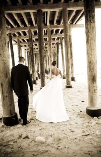 Bride and Groom Pier