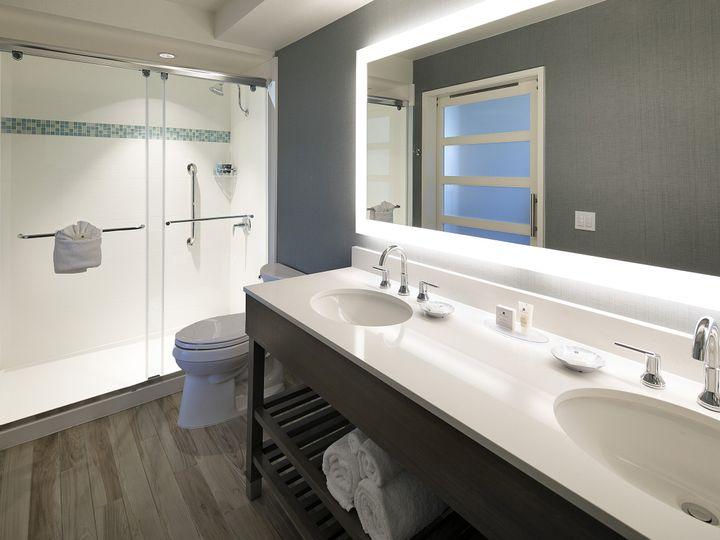 Tmx 1489000199880 One Bedroom Suite Bathroom   Hi Ventura, California wedding venue