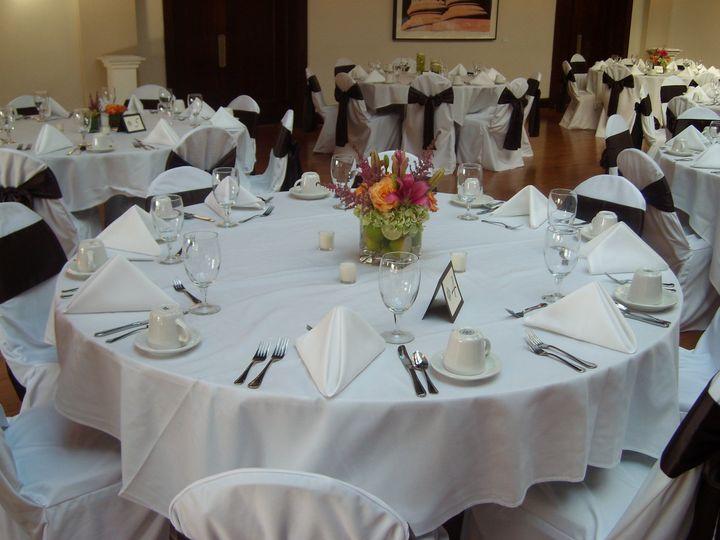 Elegant event setup