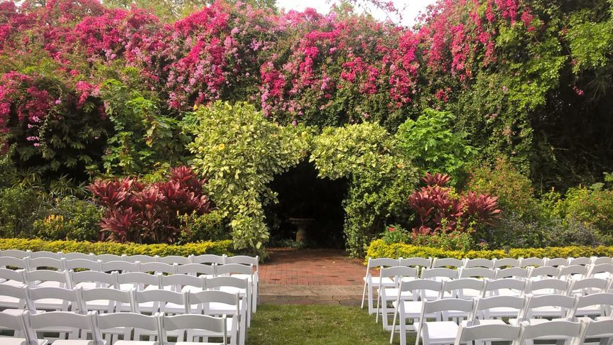 Sunken Gardens Venue Saint Petersburg Fl Weddingwire