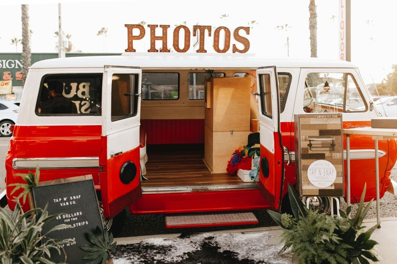 Boho chic photo booth