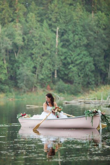 Romantic Canoe rental