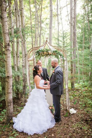 Patina Wedding Arch