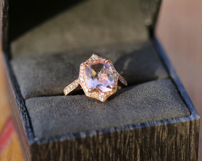 rose gold morganite engagement ring san luis obispo jeweler 1 51 1062667 1556386020