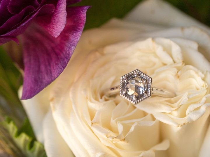 Tmx Rose Cut Salt And Pepper Diamond White Gold Engagement Ring San Luis Obispo1 51 1062667 1556386016 San Luis Obispo, CA wedding jewelry