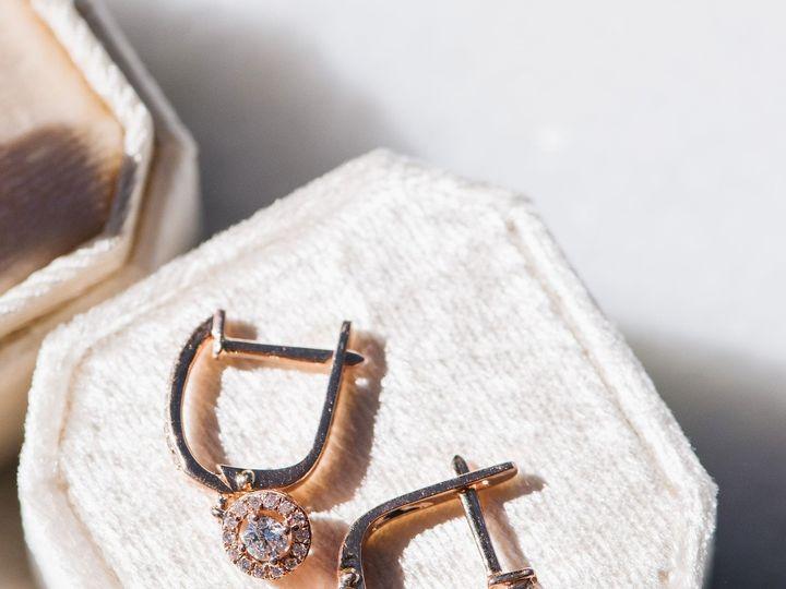 Tmx Rose Gold Huggie Earrings Serengeti West 51 1062667 1556386021 San Luis Obispo, CA wedding jewelry