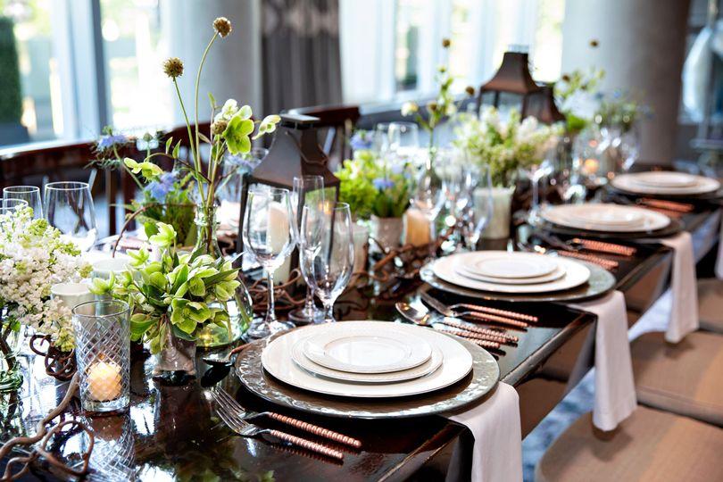 Table setting and decor | Person + Killian Photography