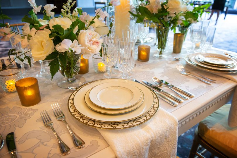 Table setting and decor | Person + Killian Photography