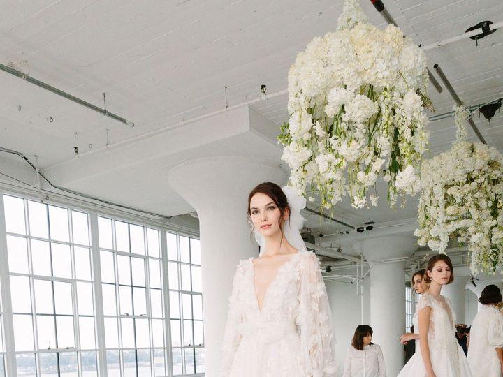 Tmx 1509134998091 11 Marchesa Fw 18 Bridal Brooklyn wedding florist