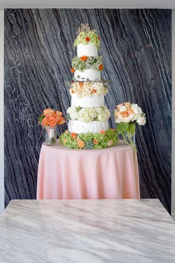 Floral DBH -Cake babymakescake