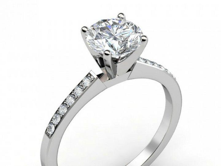 Tmx 1502747118548 Petite Share Prong Engagement Ring  Asbury Park wedding jewelry