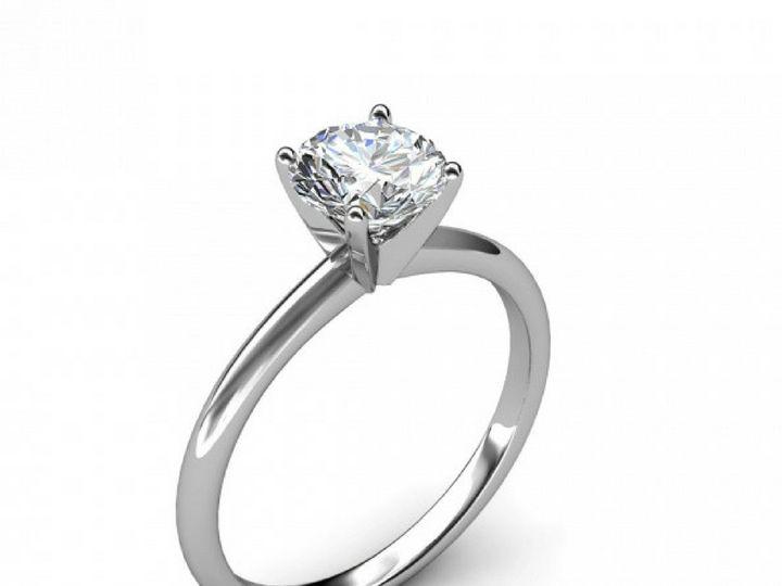 Tmx 1502747127188 Four Prong Diamond Engagement Ring Asbury Park wedding jewelry