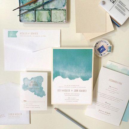 daydream wedding invitation