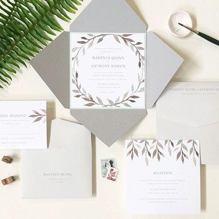 floralia wedding invitation