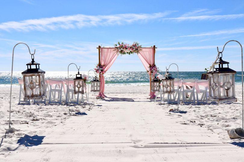 Customized Pink Wedding